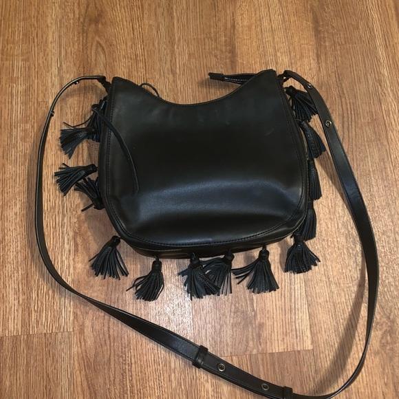 Rebecca Minkoff Handbags - Black leather Rebecca minkoff purse